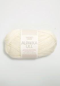 Sandnes Garn Knäuel Alpakka Ull Strickgarn 1002 hvit weiß stricken Wolle