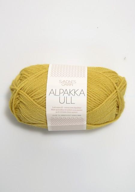 Sandnes Garn Knäuel Alpakka Ull Strickgarn 2015 maisgul mails gelb stricken Wolle