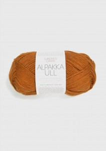 Sandnes Garn Knäuel Alpakka Ull Strickgarn 2355 oker orange terracotta stricken Wolle