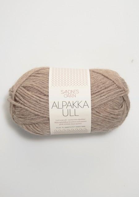 Sandnes Garn Knäuel Alpakka Ull Strickgarn 2650 beigemelert beige meliertstricken Wolle