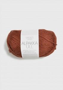 Sandnes Garn Knäuel Alpakka Ull Strickgarn 3355 rust Rost braun rot stricken Wolle