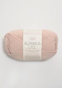 Sandnes Garn Knäuel Alpakka Ull Strickgarn 3511 pudder rosa puderrosa stricken Wolle