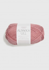 Sandnes Garn Knäuel Alpakka Ull Strickgarn 4023 støvet gammelrosa rosa altrosa stricken Wolle