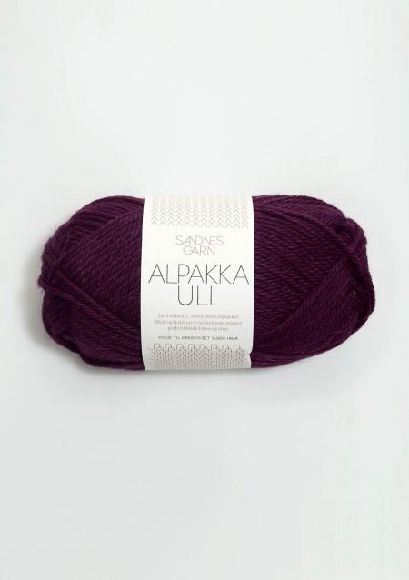 Sandnes Garn Knäuel Alpakka Ull Strickgarn 4654 vinrød weinrot stricken Wolle