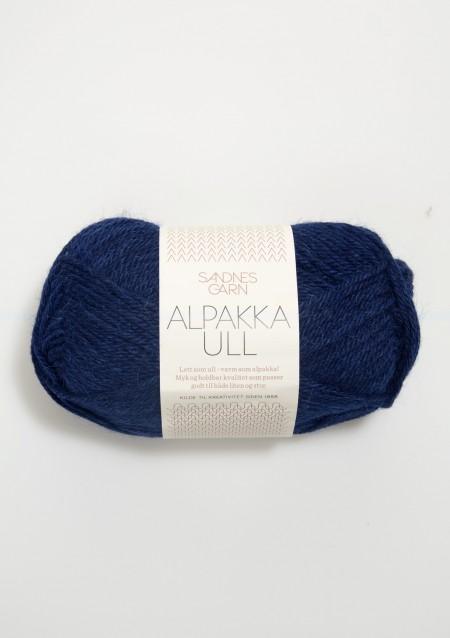 Sandnes Garn Knäuel Alpakka Ull Strickgarn 5575 marine dunkelblau stricken Wolle