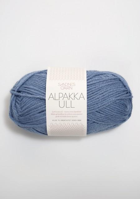Sandnes Garn Knäuel Alpakka Ull Strickgarn 6052 jeansblå jeansblau stricken Wolle