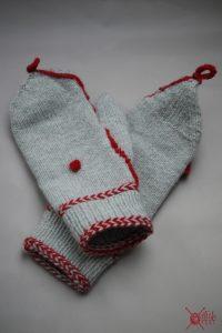 marktfrauenhandschuhe stricken klappe fäustlinge wolle stichfest blog