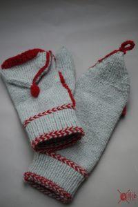 Marktfrauenhandschuhe klappe stricken stichfest Blog