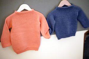 Pullover Leon / Leonore Unisex Kinder Pullover stricken Anleitung einfach Stichfest
