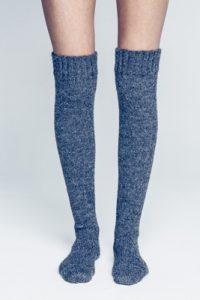 lange knestrømper Sandnesgarn heft tema 42 sokker og votter alpakka strømpegarn