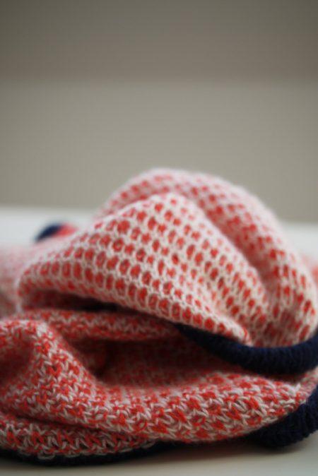 bienenwabe patent brioche shawl stricken stichfest design