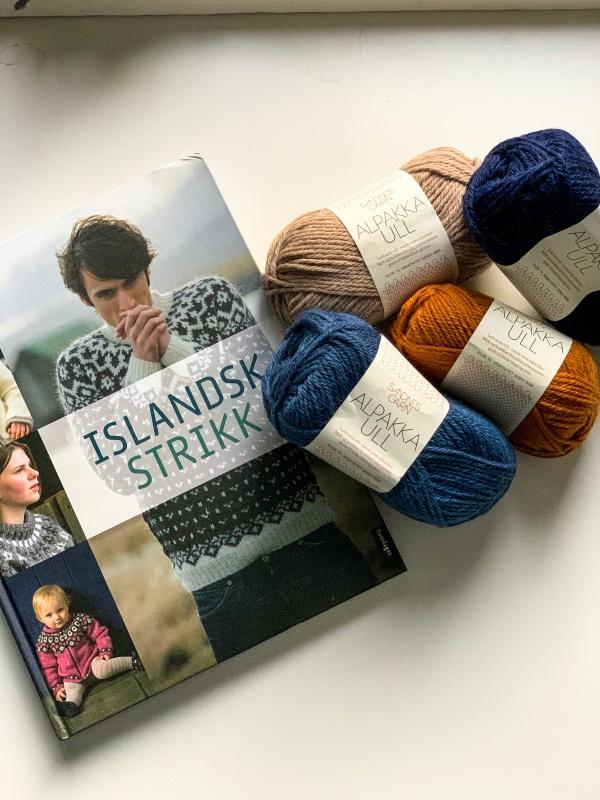 Titelbild Islandsk Strikk Buch