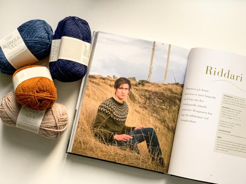 Riddari nicht kratzig Isländer Wolle Alpaka weich stricken